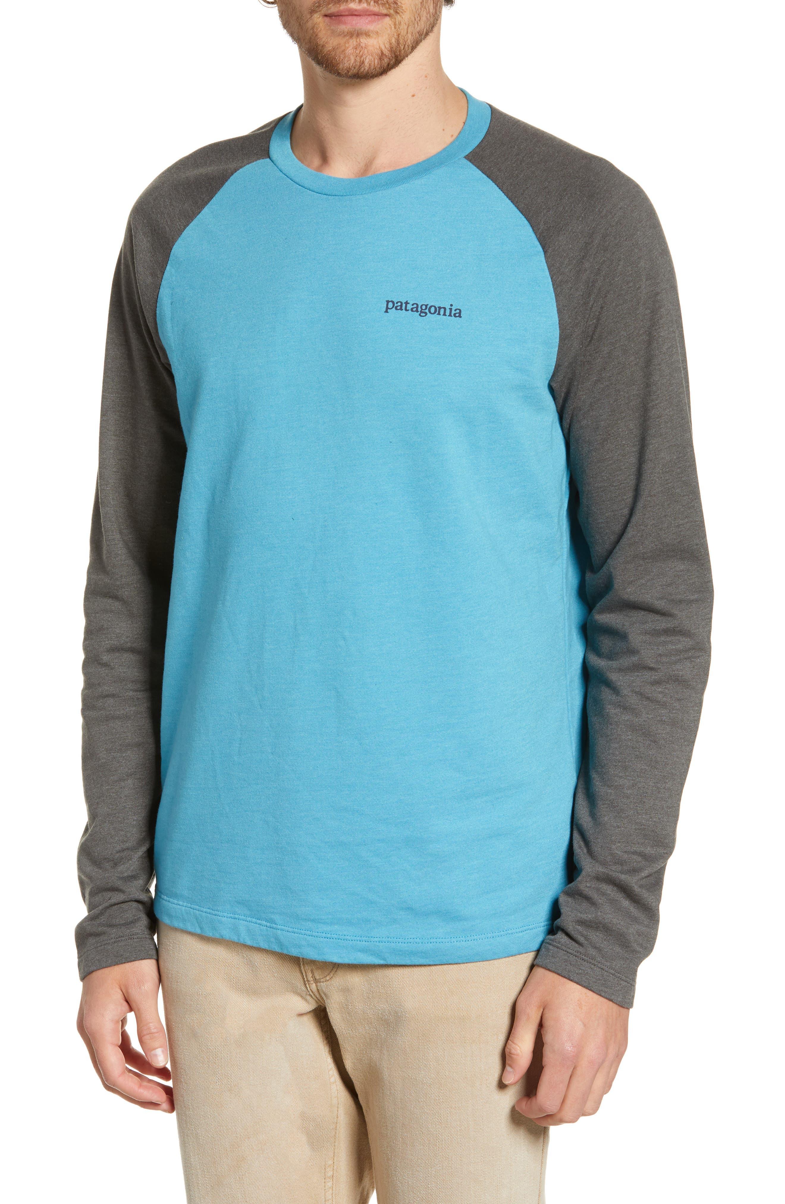 Patagonia Line Ridge Logo Graphic Sweatshirt