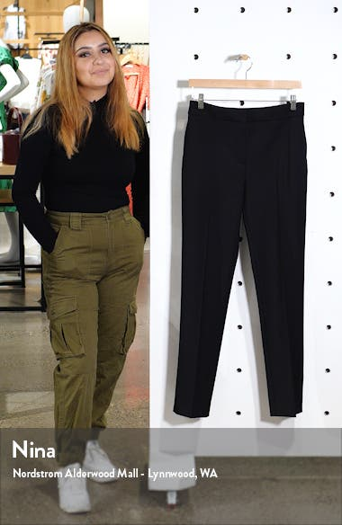 Wool Blend Skinny Pants, sales video thumbnail