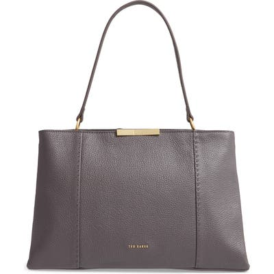 Ted Baker London Camieli Faceted Bow Tote Bag - Grey