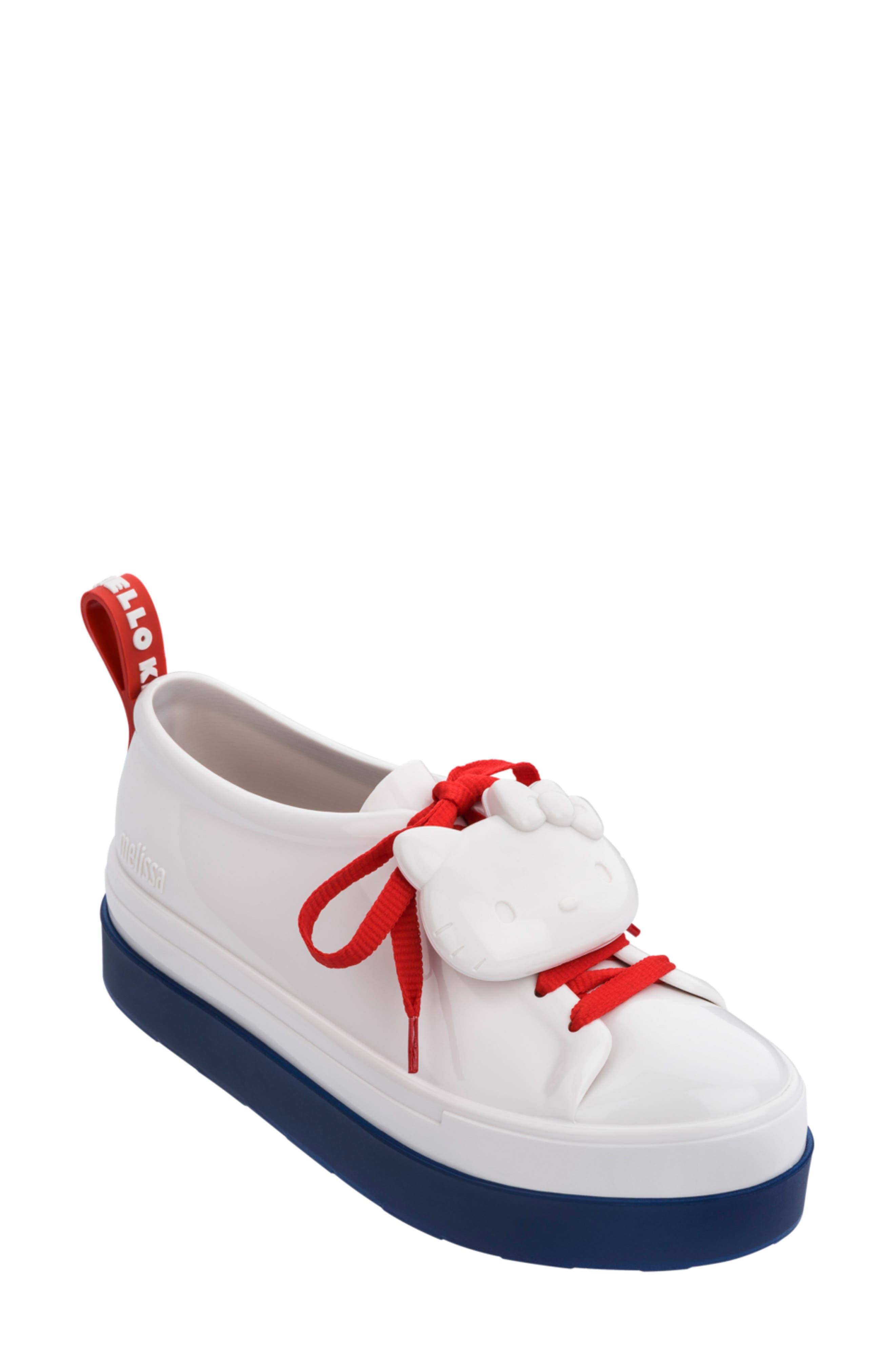 Melissa Hello Kitty Sneaker, White