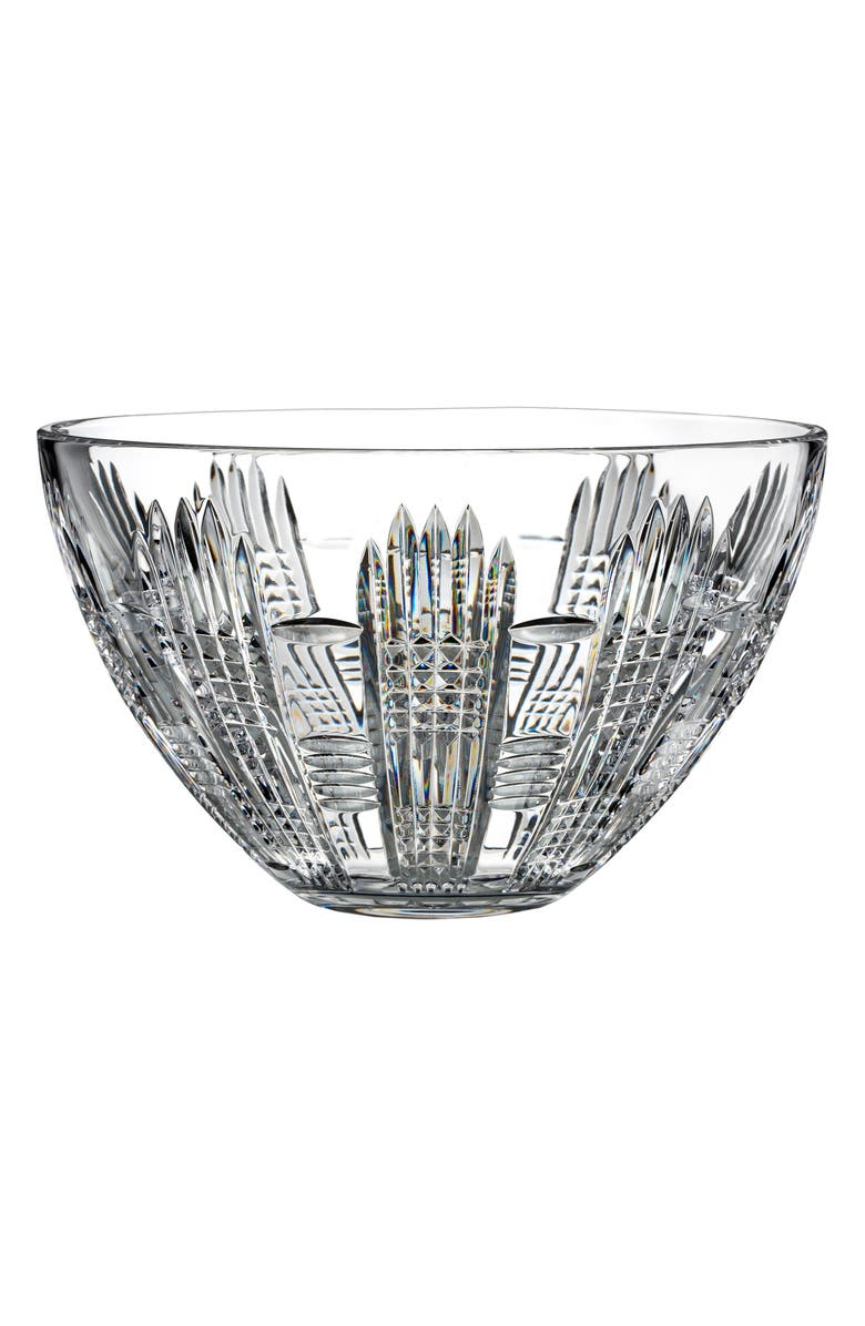 WATERFORD Dungarvan Lead Crystal Bowl, Main, color, CRYSTAL