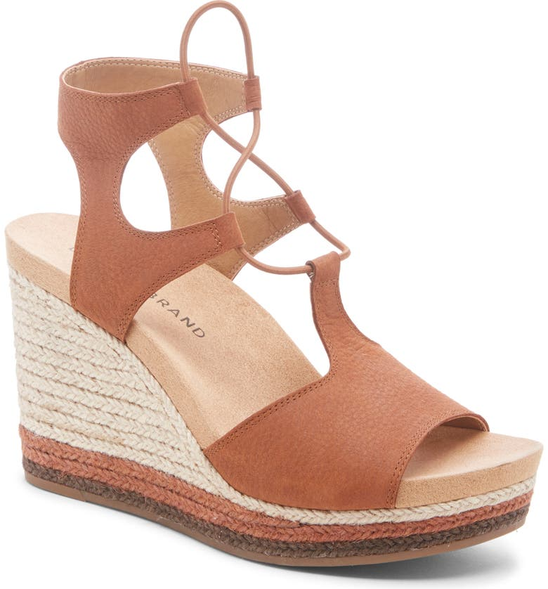 4824102de Yejida Espadrille Wedge Sandal, Main, color, UMBER NUBUCK LEATHER