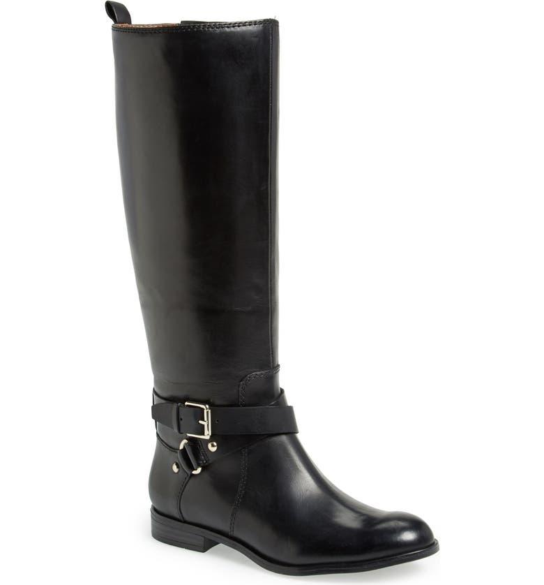 ENZO ANGIOLINI 'Daniana' Leather Riding Boot, Main, color, 001