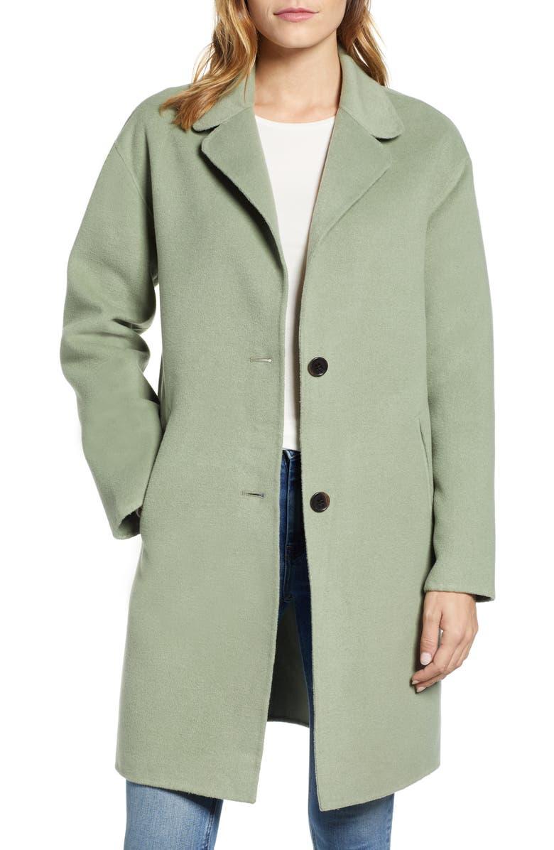 BERNARDO Car Coat, Main, color, 330