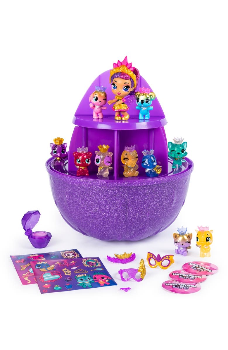 SPIN MASTER Hatchimals CollEGGtibles Secret Surprise Play Set, Main, color, MULTI