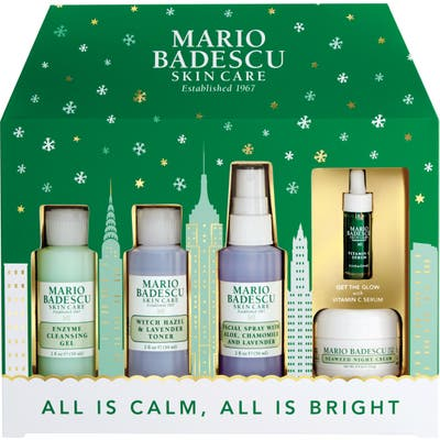 Mario Badescu All Is Calm, All Is Bright Travel Set