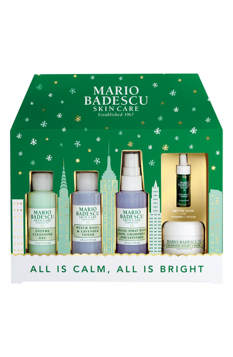 MARIO BADESCU All Is Calm, All Is Bright Travel Set, Main, color, 000