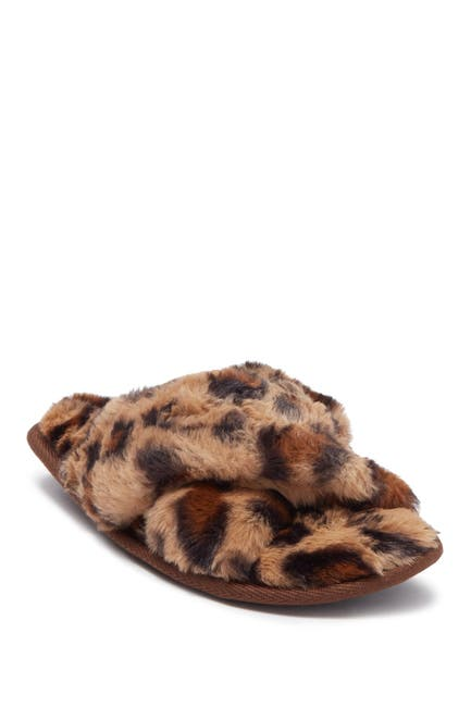 Image of Steve Madden Peaceful Faux Fur Slipper