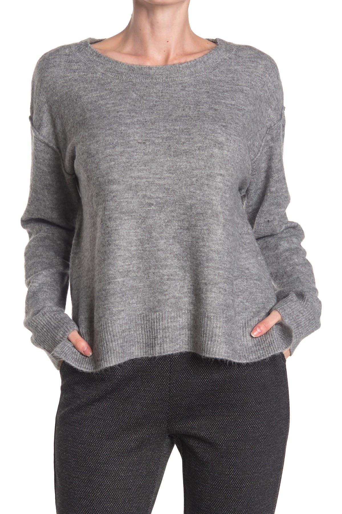 Image of Max Studio Long Sleeve Crew Neck Sweater