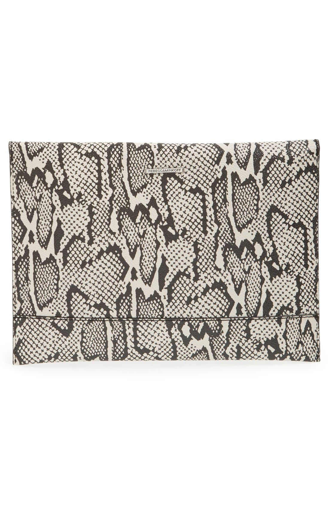 ,                             Leo Envelope Clutch,                             Alternate thumbnail 96, color,                             002