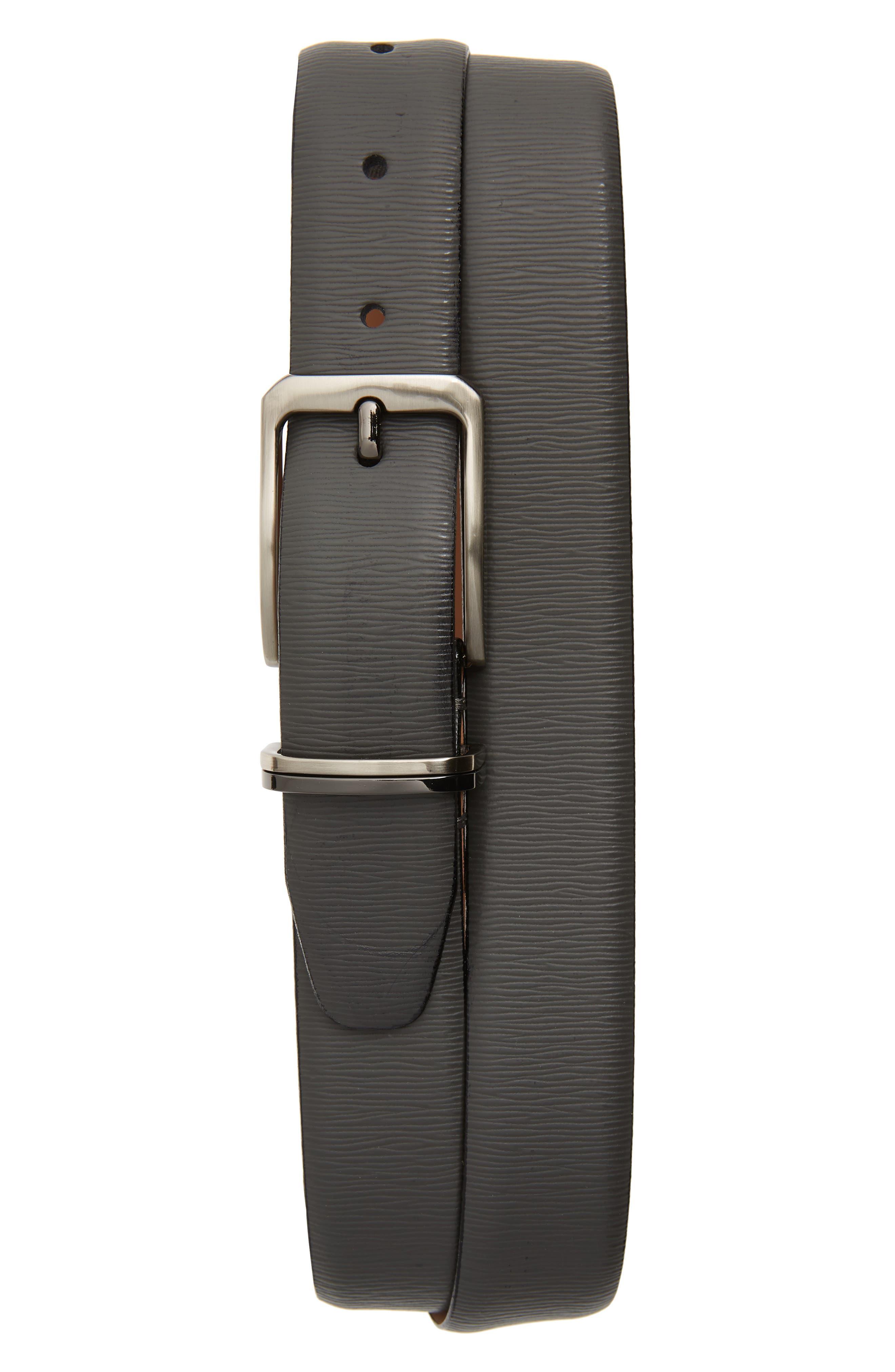 Ted Baker London Belt Olivio Leather Belt