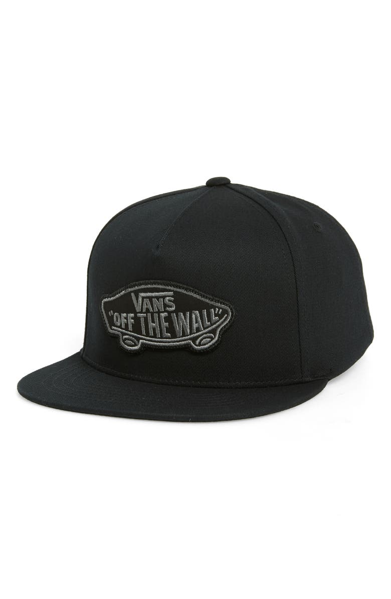 VANS Classic Patch Baseball Cap, Main, color, 001