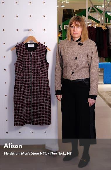 Darsha Tweed Sheath Dress, sales video thumbnail