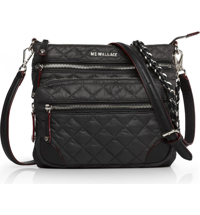 MZ WALLACE M Z Wallace Downtown Crosby Crossbody Bag, Main, color, BLACK