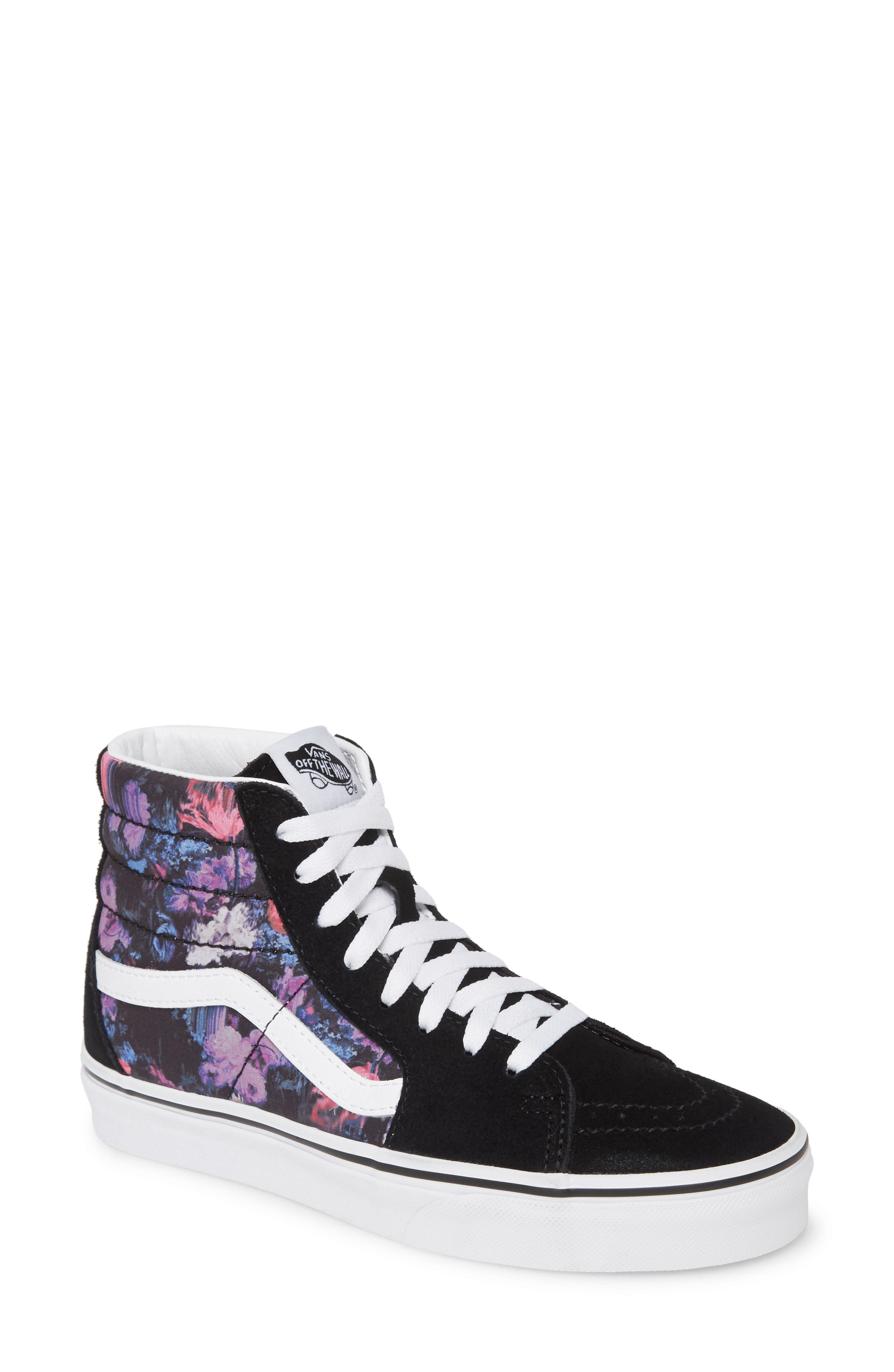 Vans Sk8-Hi Warped Floral Sneaker