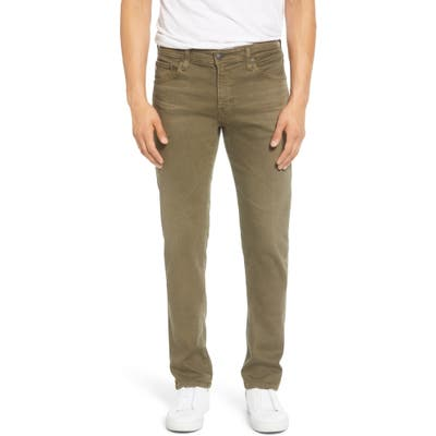 Ag Tellis Slim Fit Jeans, Green