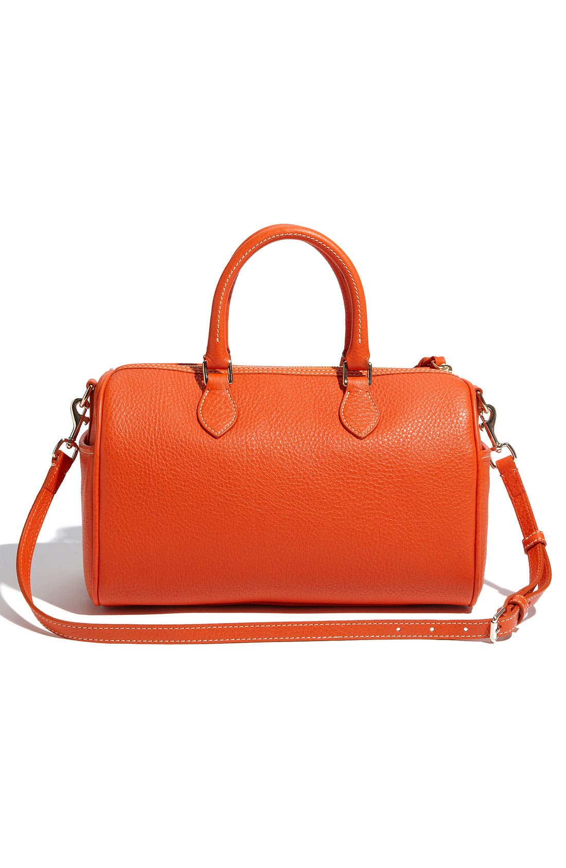 ,                             Leather Satchel,                             Alternate thumbnail 6, color,                             810