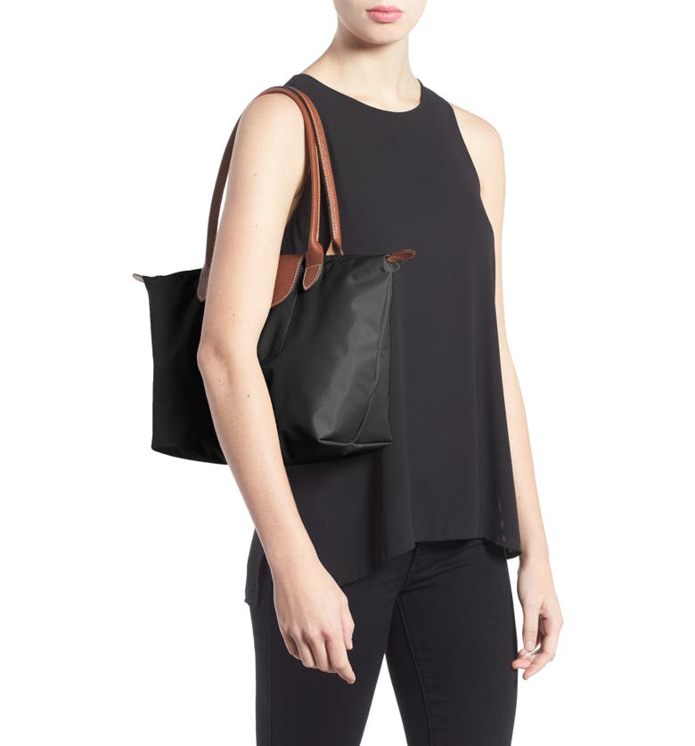 'small Le Pliage' Tote by Longchamp