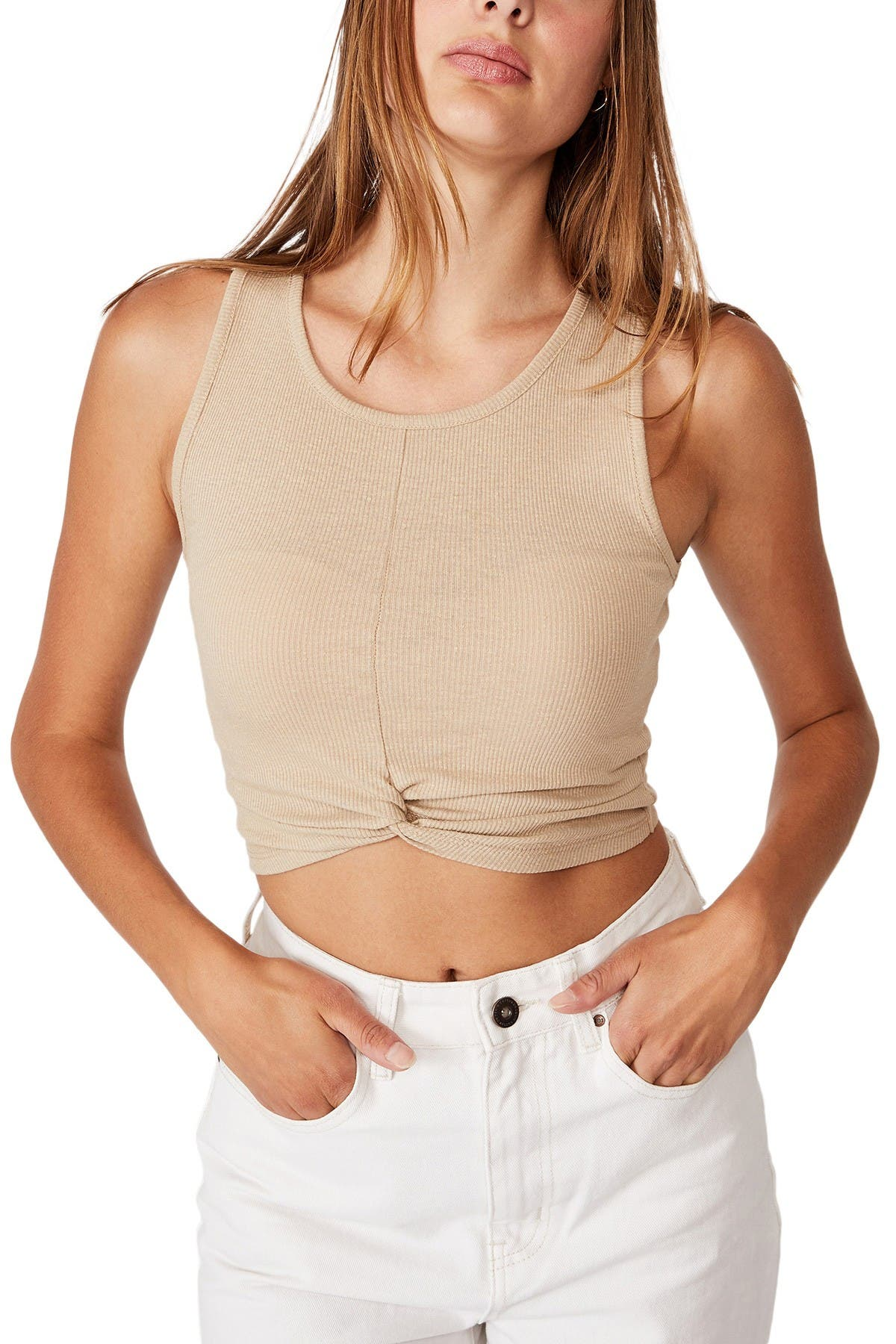Cotton On TILLY TWIST FRONT TANK TOP