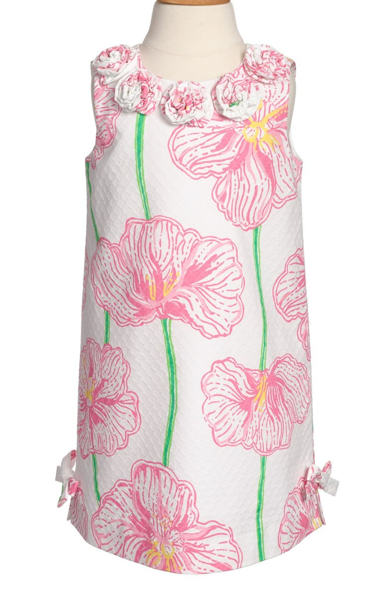 LILLY PULITZER<SUP>®</SUP> 'Little Lilly' Shift Dress, Main, color, 115