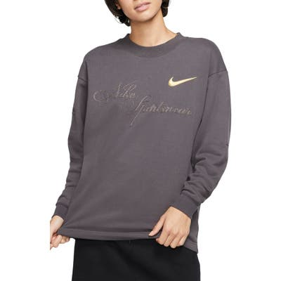 Nike X Maria Sharapova Embroidered Long Sleeve Tee, Grey