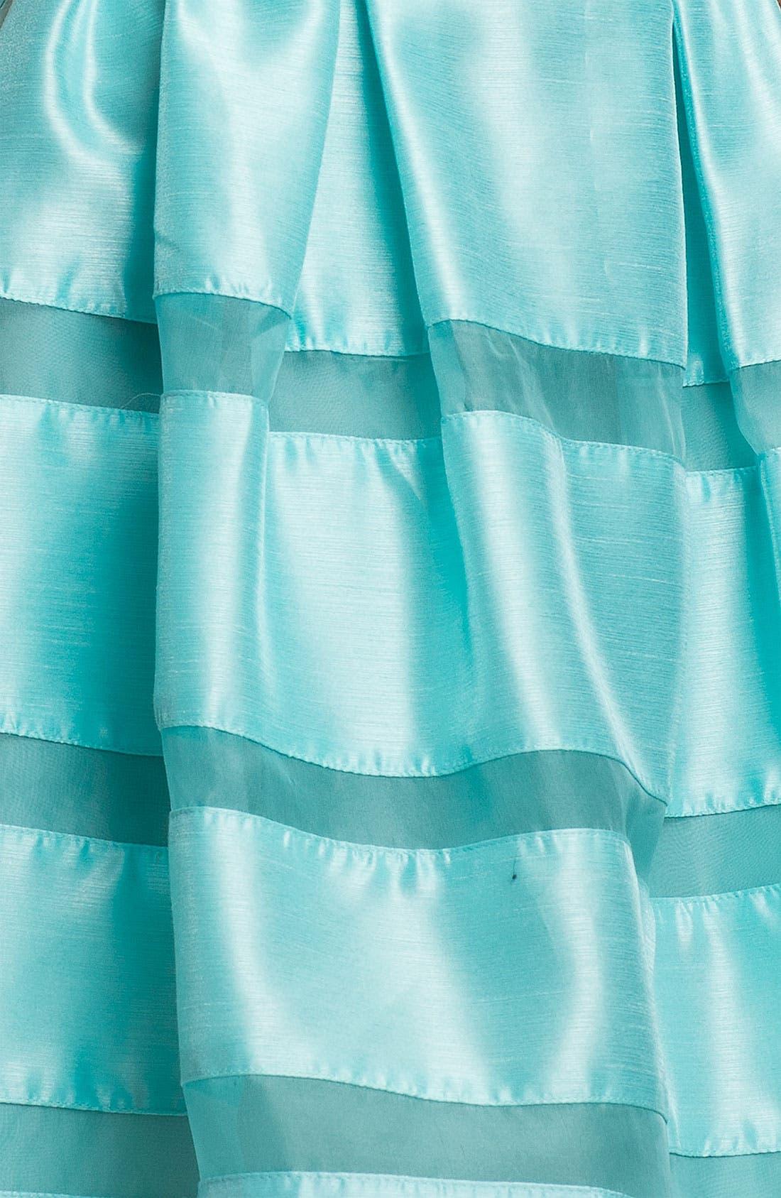 ,                             Tonal Stripe Fit & Flare Dress,                             Alternate thumbnail 11, color,                             324