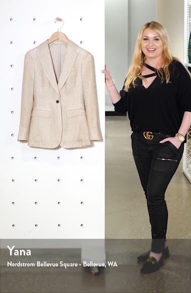 Cameron Silk & Linen Suit Jacket, sales video thumbnail