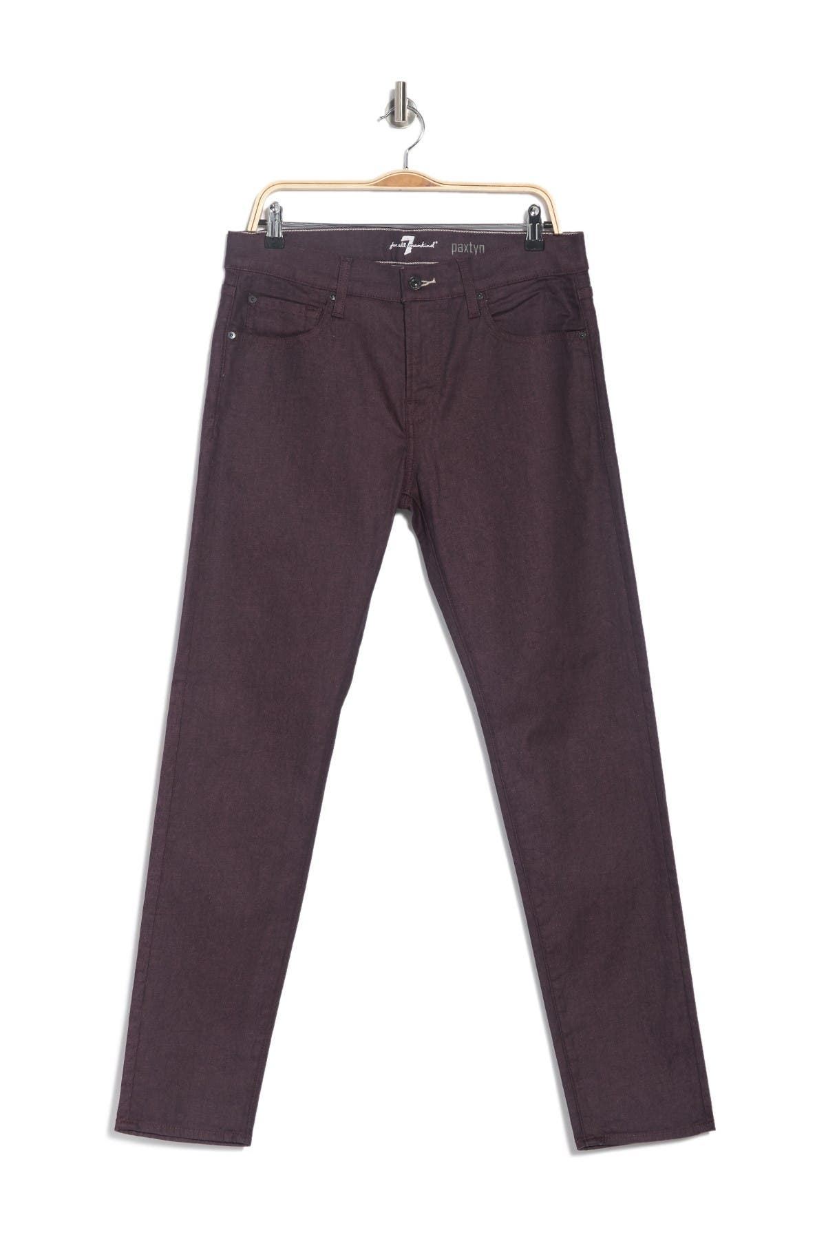 Image of 7 For All Mankind Paxtyn Skinny Fit Stretch Twill Performance Pants