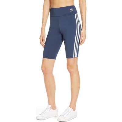 Adidas Originals Bike Shorts, Blue