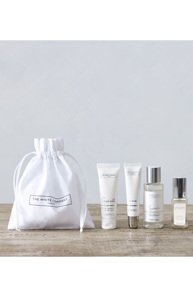 THE WHITE COMPANY Seychelles Ultimate Bathing Moment Gift Set, Main, color, WHITE