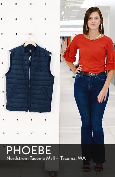 Slim Fit Full Zip Vest, sales video thumbnail