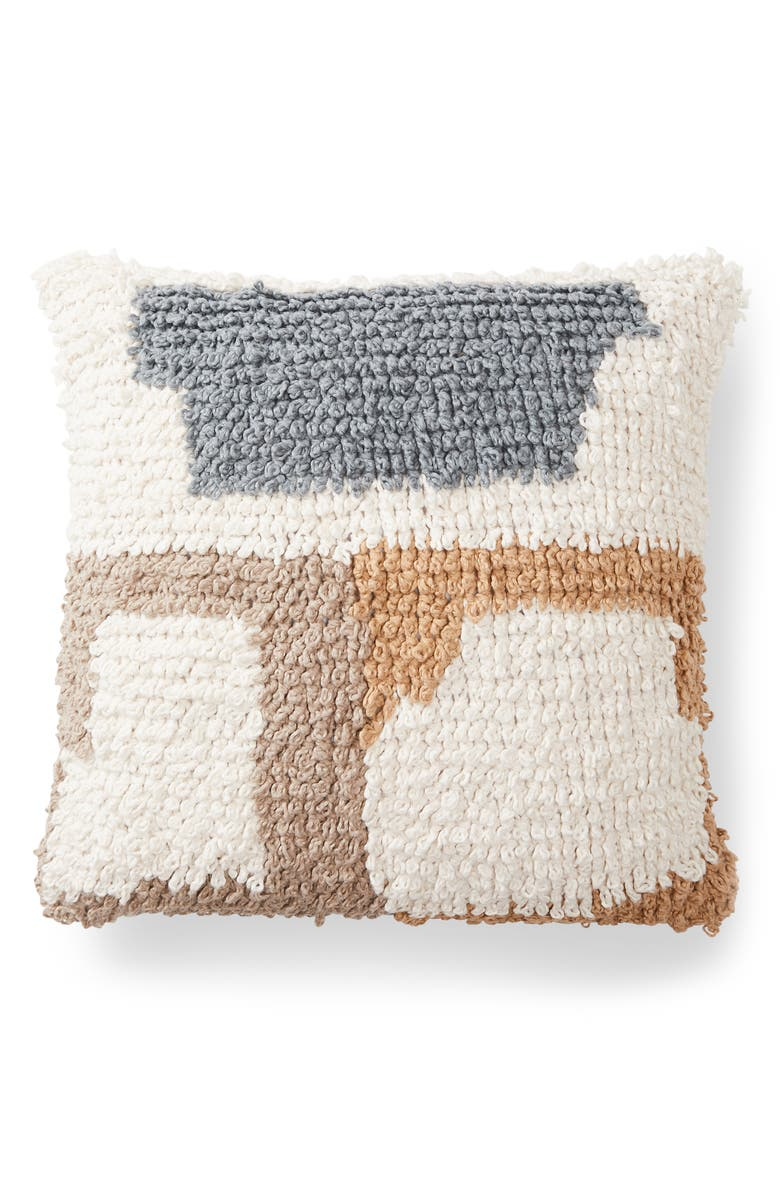 MINNA Loops Accent Pillow, Main, color, MULTI