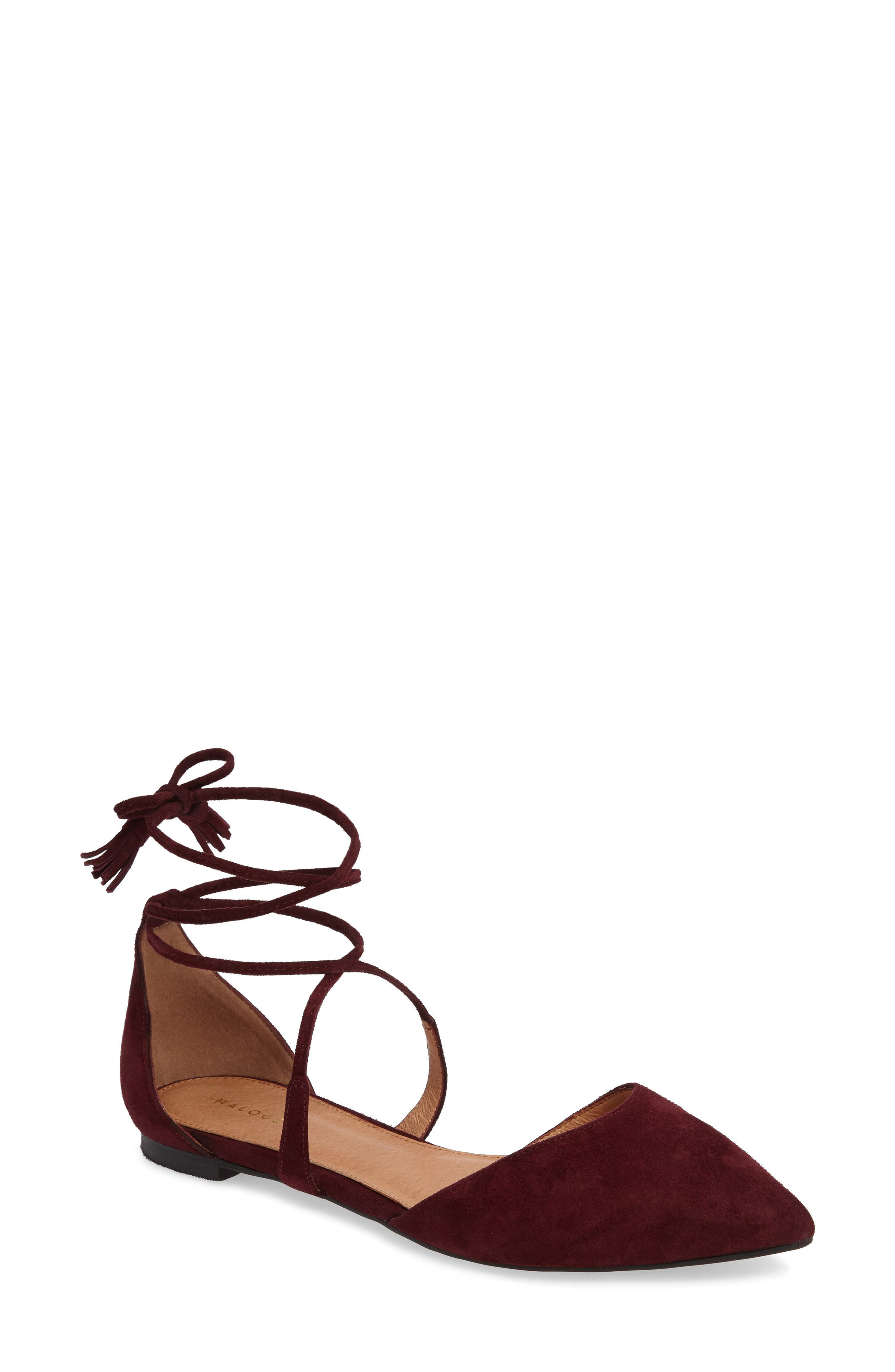 ,                             Oliver Ankle Wrap Flat,                             Main thumbnail 29, color,                             930