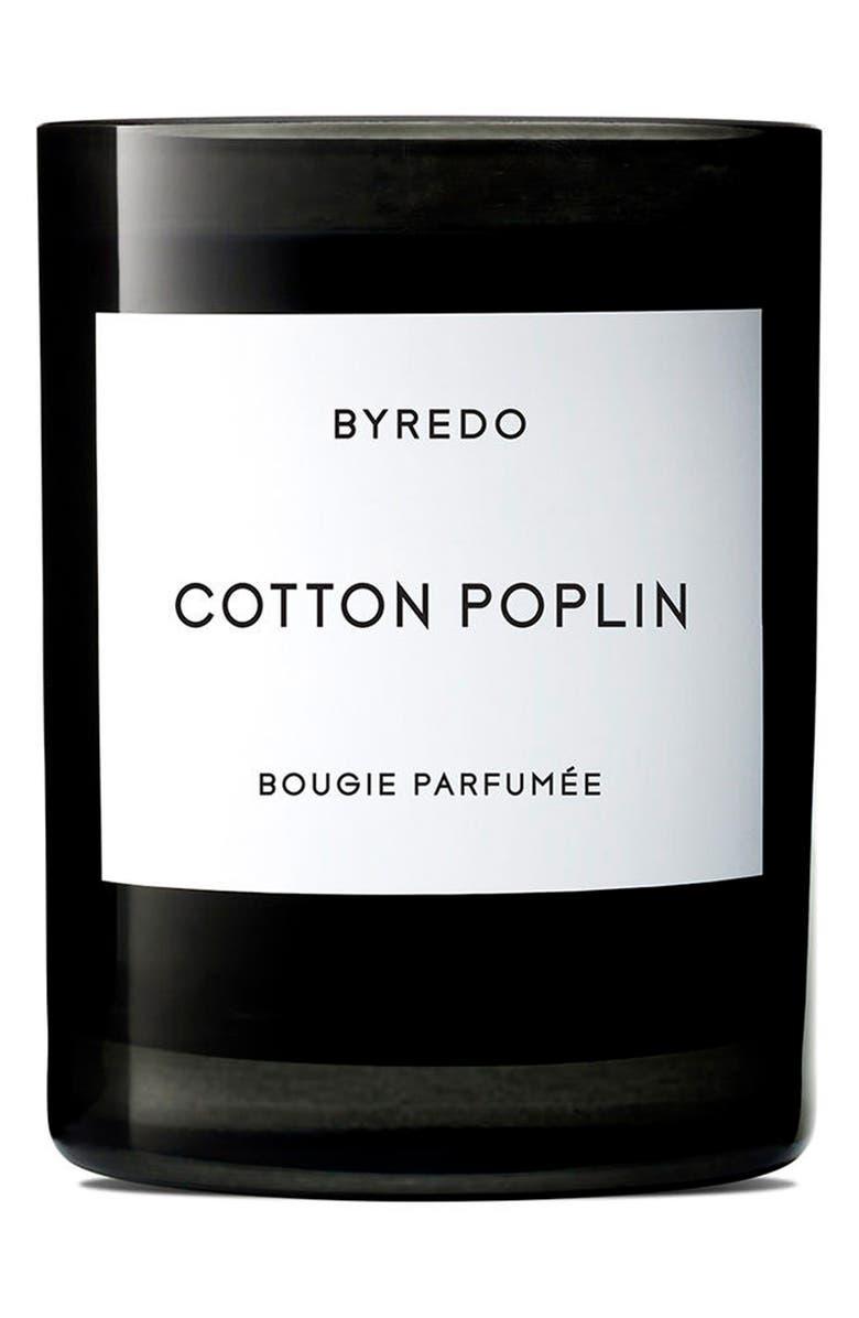 BYREDO Cotton Poplin Candle, Main, color, NO COLOR