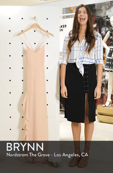 Luxurious Love Lace-Up Back Gown, sales video thumbnail