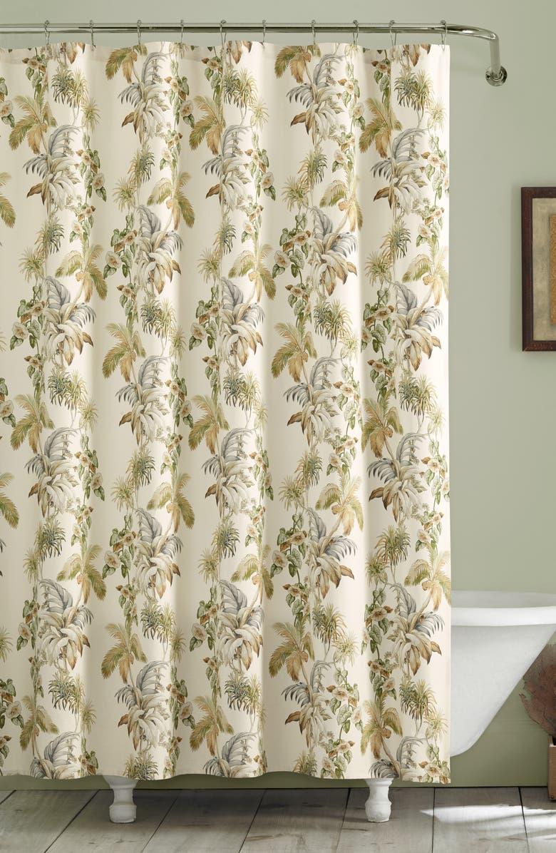 TOMMY BAHAMA Nador Shower Curtain, Main, color, 100