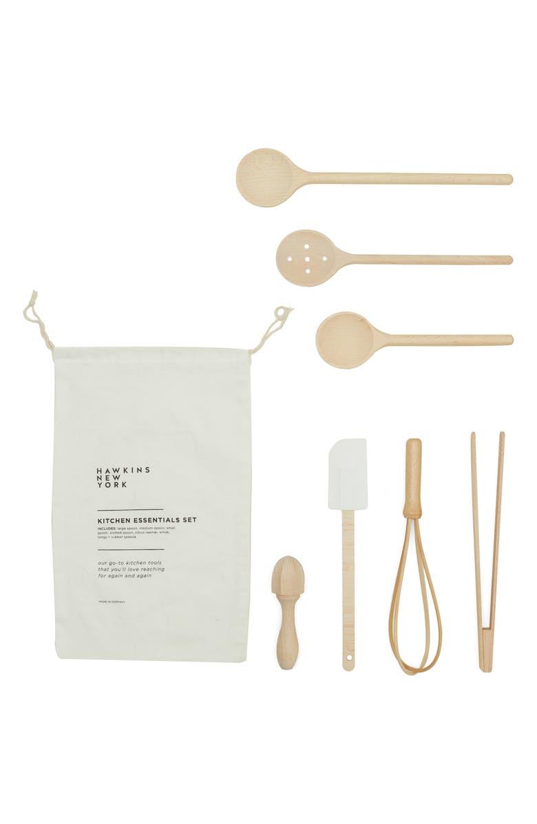 HAWKINS NEW YORK Kitchen Essentials Set, Main, color, BEACHWOOD