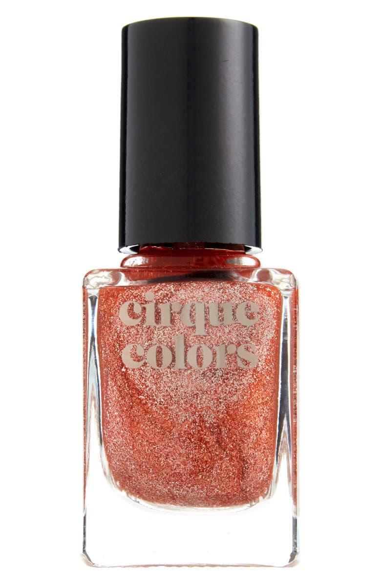CIRQUE COLORS Halycon Metallic Nail Polish, Main, color, ROSE GOLD