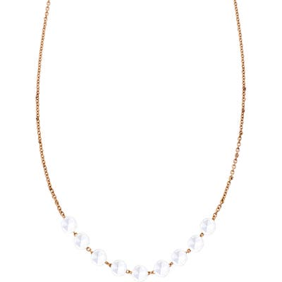 Sethi Couture Rose Cut 9-Stone Diamond Necklace