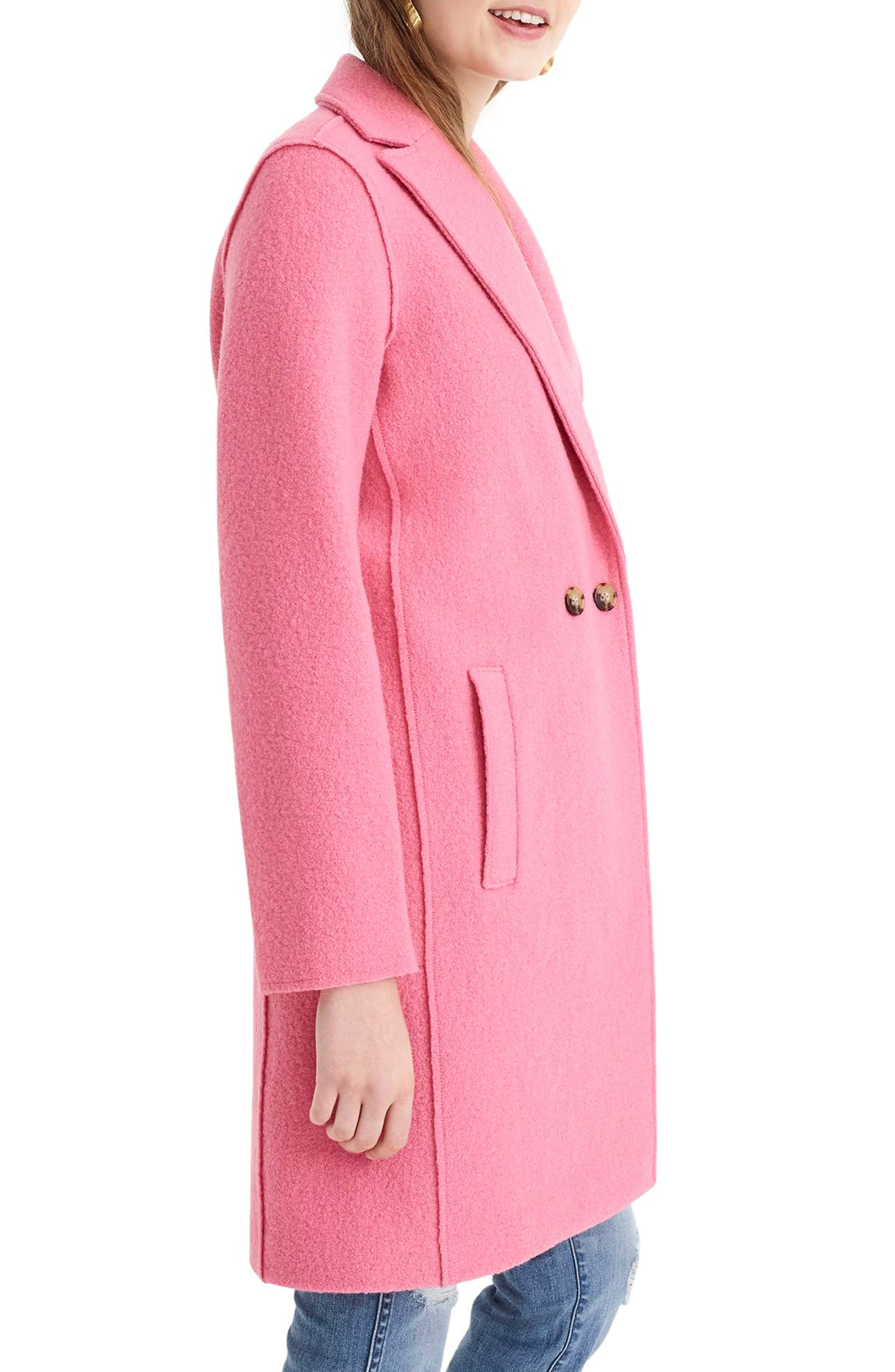 ,                             Daphne Boiled Wool Topcoat,                             Alternate thumbnail 49, color,                             650