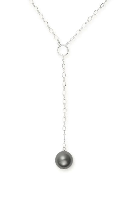 """Image of Alex and Ani Sea Sultry Pearl 16"""" Lariat Necklace"""