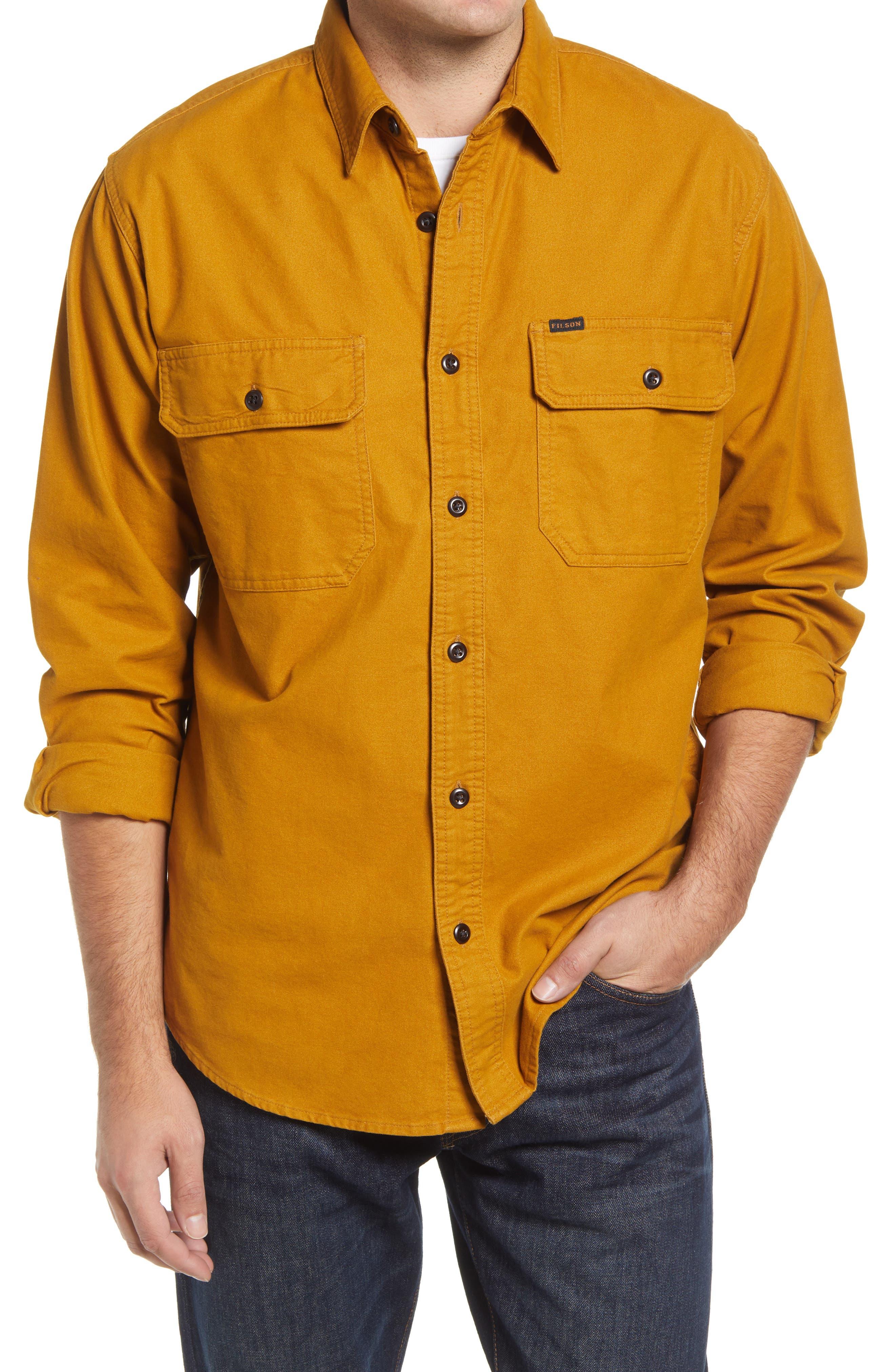 Field Flannel Button-Up Shirt