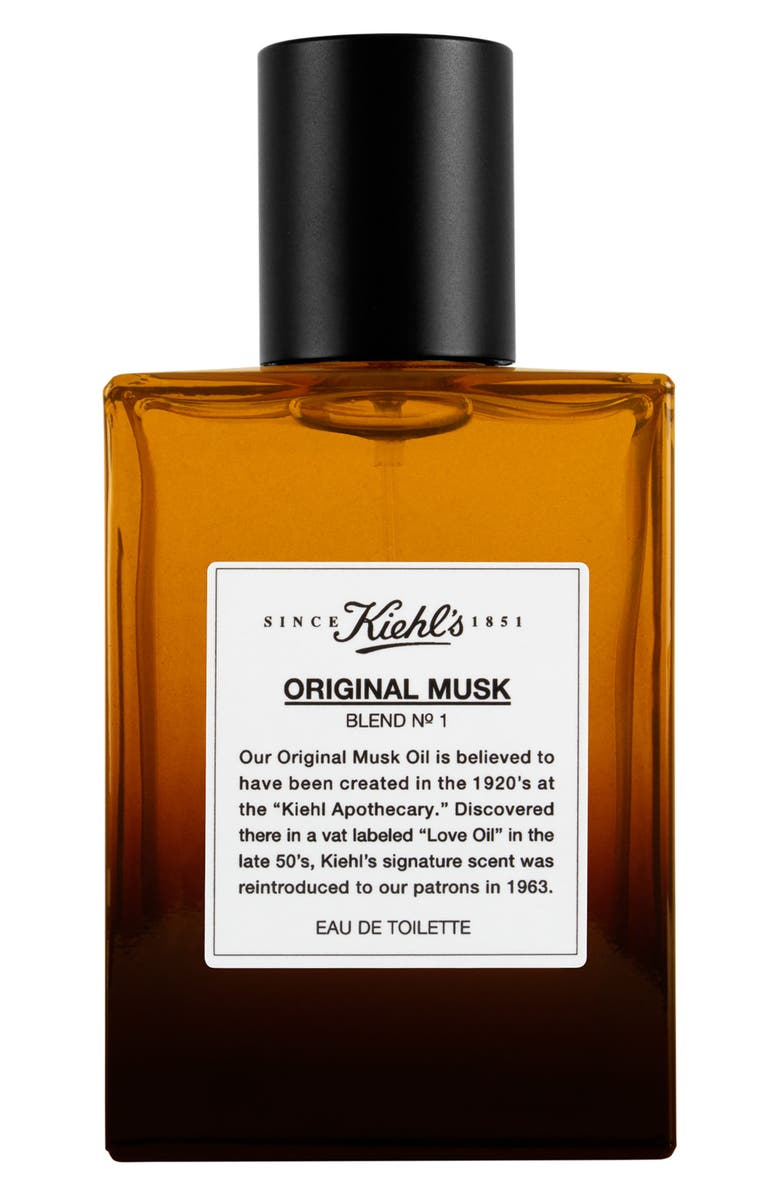 KIEHL'S SINCE 1851 Original Musk Eau de Toilette Spray, Main, color, 000