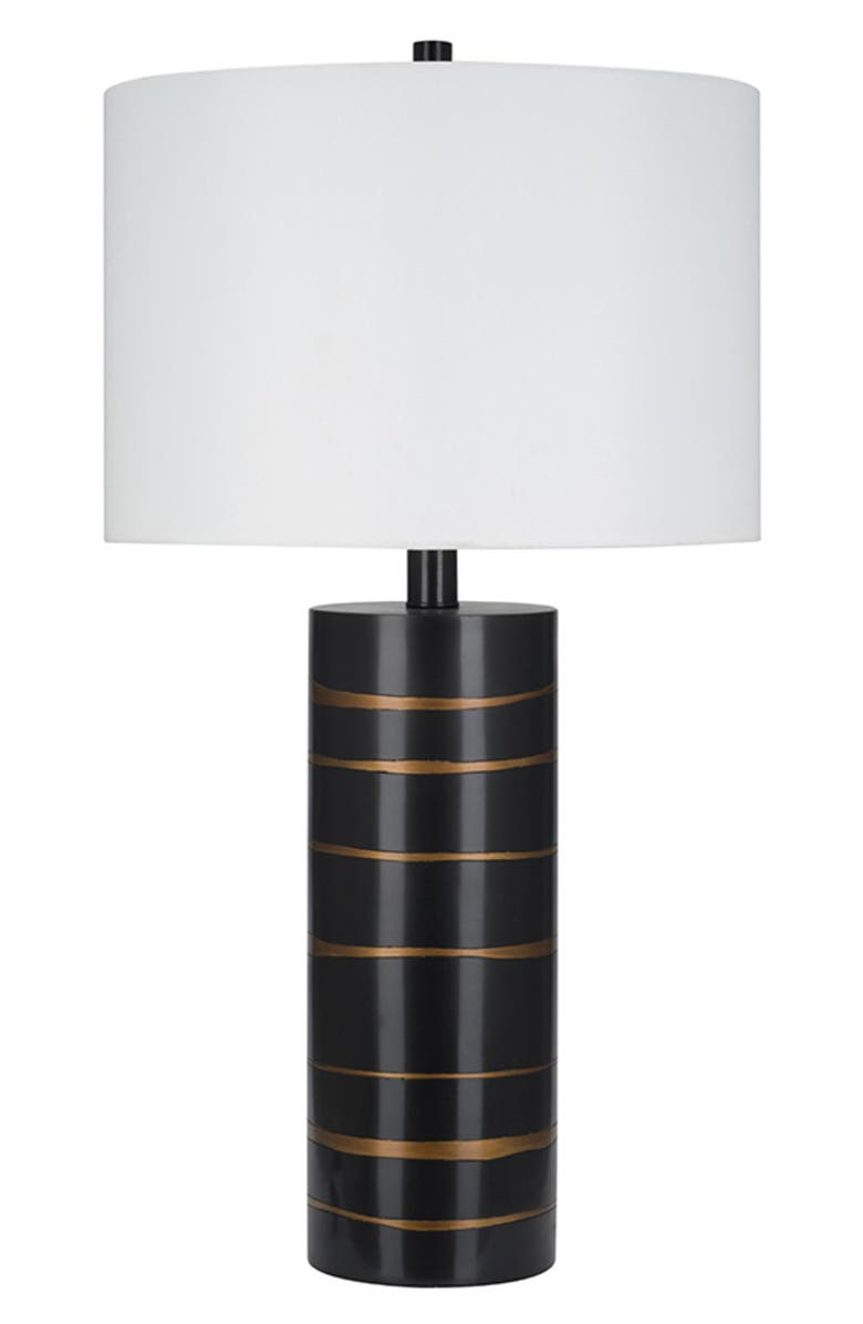 JALEXANDER LIGHTING Zara Table Lamp, Main, color, BLACK