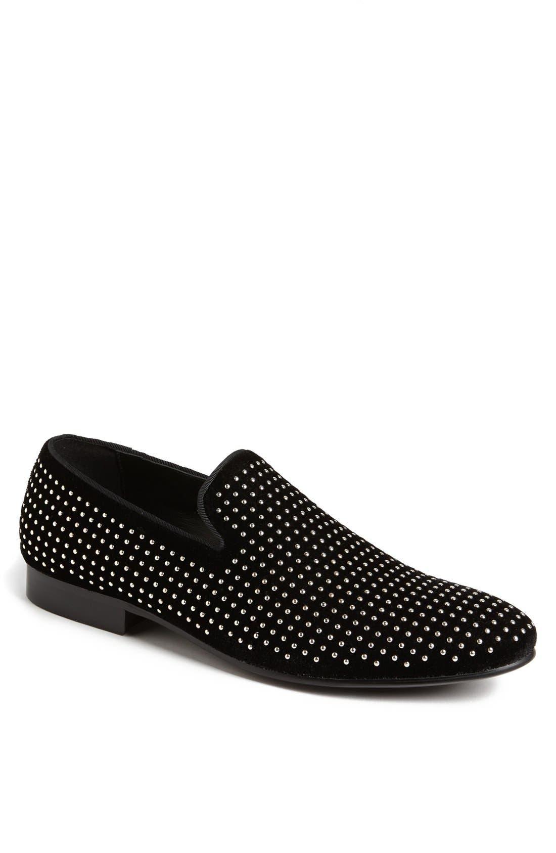 ALDO 'Bosel' Studded Velvet Loafer (Men