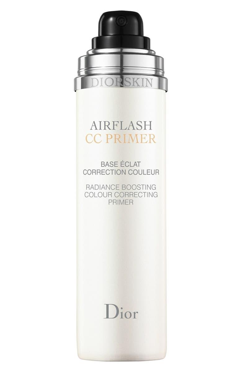 DIOR 'Airflash - CC Primer' Radiance Boosting Color Correcting Primer, Main, color, 000