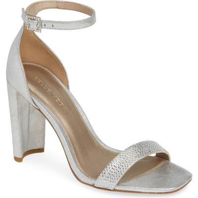 Pelle Moda Gabi Ankle Strap Sandal- Metallic