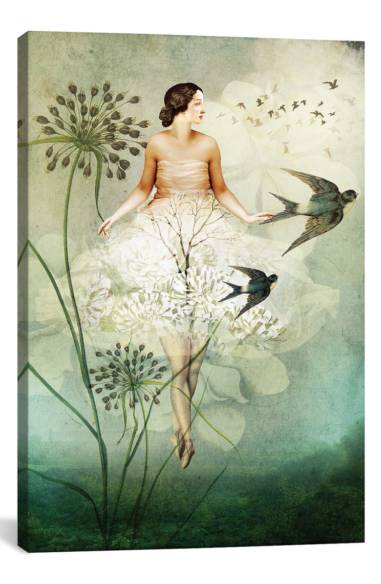 ICANVAS Flyby by Catrin Welz-Stein Giclée Print Canvas Art, Main, color, GREEN