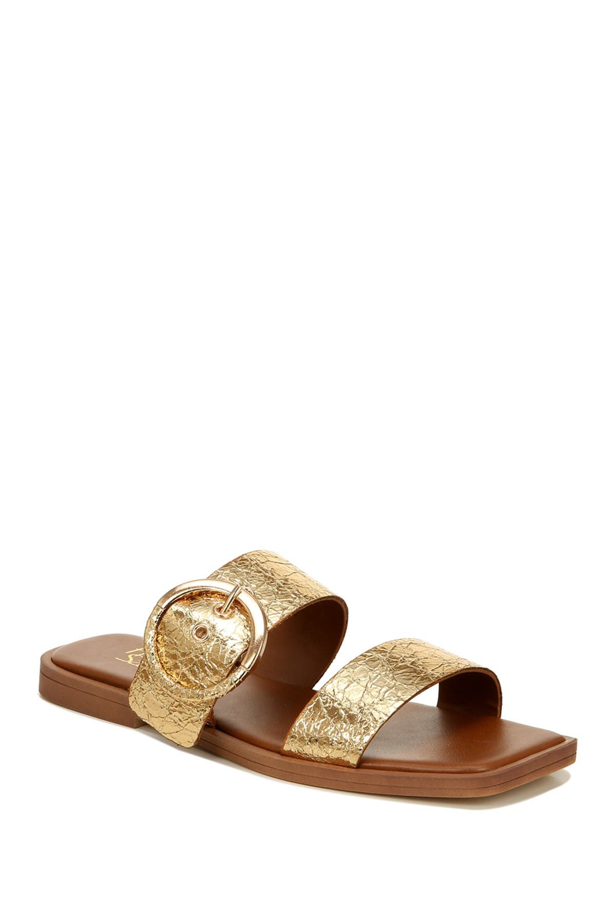 Image of Franco Sarto Merris Croc Embossed Sandal