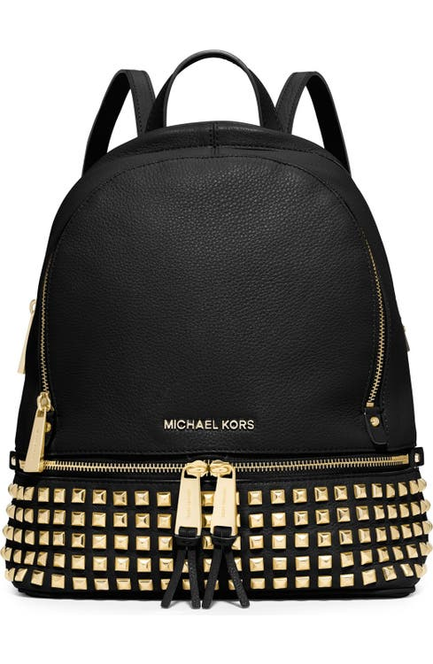 10ca6798f44 MICHAEL Michael Kors 'Small Rhea' Studded Backpack | Nordstrom